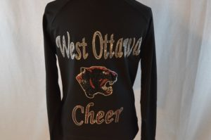 Cheer warm up jacket