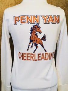 Penn Yan Varsity Cheer Jackets