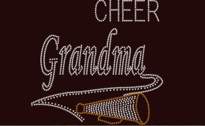Cheer Grandma Shirts that can be customized to support your child and team!