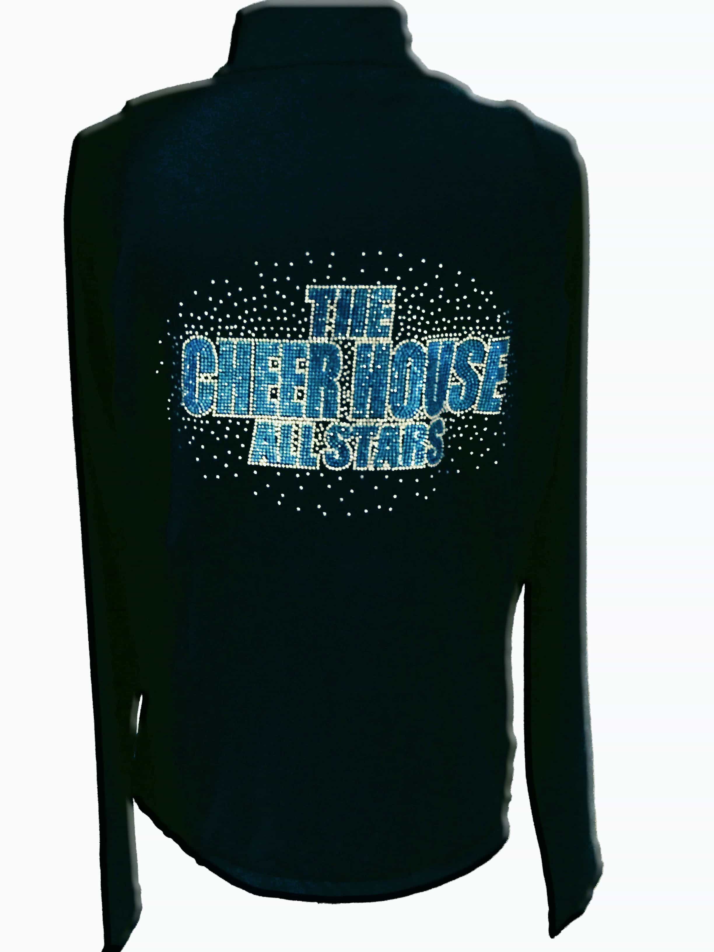 The Cheer House All-Stars cheer team jackets | Custom Cheer Jackets