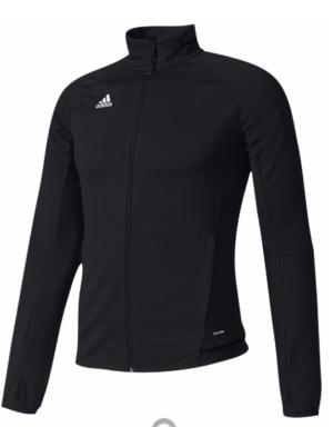 addidas trio jacket- black