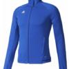 addidas trio jacket- blue