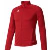 addidas trio jacket -red