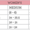 boxercraft adult ladies size chart