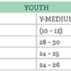 boxercraft youth size chart