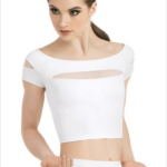 cap sleeve- white