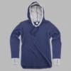 cool down hoodie -navy