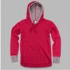 cool down hoodie -red