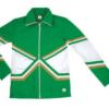 crossover jacket kelly green gold