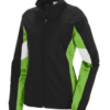 d force jacket- lime