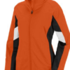 d force jacket- orange