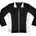 expresion jacket- black white