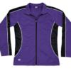 honor jacket- purple