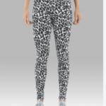 leggings- snow leopard