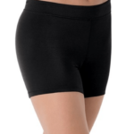 longer lenght short- black