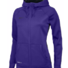 Nike Team Full Zip Up Hoodie - Purple