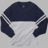 pom pom jersey- navy and oxford