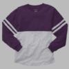 pom pom jersey-purple grey