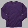 pom pom jersey- purple