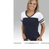 powder puff t -navy