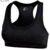 racerback sports bra- black