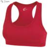 racerback sports bra- red