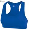 racerback sports bra- blue