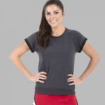 short sleeve sweatshirt- grey