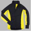 studio jacket- yellow & black