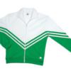 v jacket- kelly green