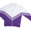 v jacket -purple