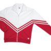 v jacket- red