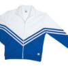 v jacket- royal