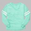v-slub jersey- mint