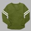 v-slub jersey- army