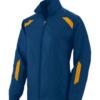 avail jacket navy gold
