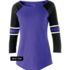 loyalty jersety tee purple black