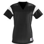 rally replica jersey- black white