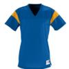 rally replica jersey- blue gold