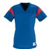 rally replica jersey- blue red