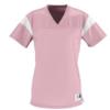 rally replica jersey- light pink white