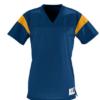 rally replica jersey- navy gold