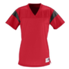rally replica jersey- red black