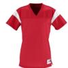 rally replica jersey- red white