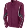 rival jacket maroon