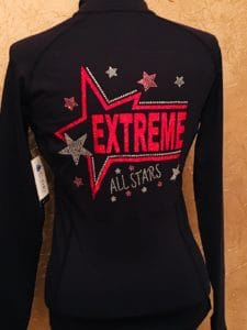 Custom All Star Cheer Jacket for Extreme All-Stars Cheer Team