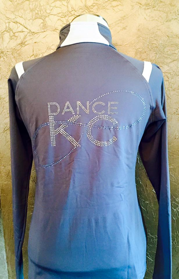 Dance KC rhinestone jacket
