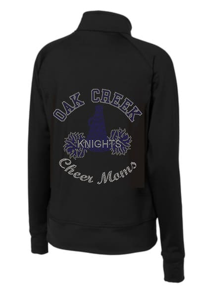 Oak Creek Knights Cheer Moms bling jacket