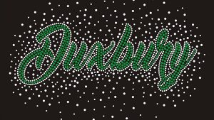 Duxbury cheer rhinestone jacket design
