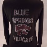 cheer warmup jackets customized rhinestones